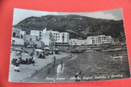 Napoli Isola Di Ischia Lacco Ameno Terme Albergo Regina Isabella 1958 - Napoli (Naples)