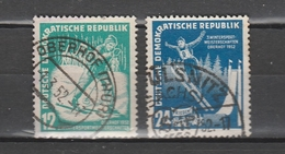 DDR  Us   1952    MI  298-99      Vedi  Foto ! - [6] République Démocratique