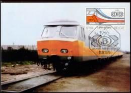 [CM1603] 1825 - MK - Nat. Mij Der Belgische Spoorwegen N.M.B.S. - Cartes-maximum (CM)