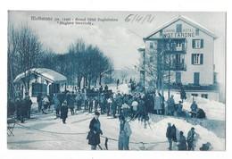 MOTTARONE (Italie) Grand Hotel Guglielmina Skieurs Belle Animation - Autres Villes