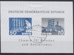 Wlk_ DDR - Mi.Nr. Block 18 - Gestempelt Used - Blocks & Kleinbögen