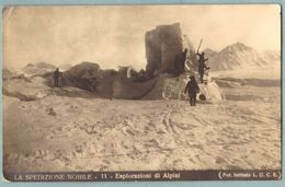 Cartolina N° 11 La Spedizione Nobile Esplorazioni Di Alpini - Non Viaggiata - Guerra 1914-18