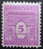 FRANCE Arc De Triomphe N°620 Neuf * - 1944-45 Arc De Triomphe