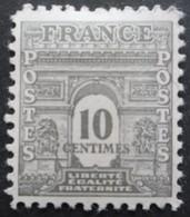 FRANCE Arc De Triomphe N°621 Neuf * - 1944-45 Arc De Triomphe