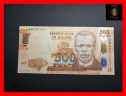 MALAWI 500 Kwacha 1.1.2013  P. 61 B  UNC - Malawi