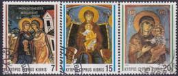 Cyprus 1992 SG #827-29 Compl.set Used Christmas - Cyprus (Republic)