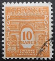 FRANCE Arc De Triomphe N°629 Oblitéré - 1944-45 Arc De Triomphe