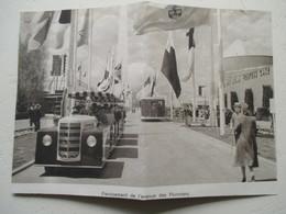 New York World's Fair -   Camion Petit Train Greyhound    - Coupure De Presse De 1939 - Camions