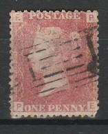 GRANDE BRETAGNE 1858-64 YT N° 26 Obl. PLANCHE 100 - 1840-1901 (Victoria)