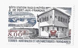 CG TAAF PA147** Première Station Météo Port Aux Français 1998 - Poste Aérienne
