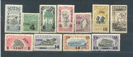 Liberia 1936 Complete Set   MNH - Liberia