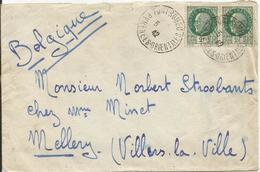 1941-42 N° 518 (x2) Oblitérés (o) Sur Lettre CENSUREE - FONT ROMEU - France