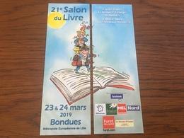 Marque Page Puzzle Salon Livre Bondues - Marcapáginas