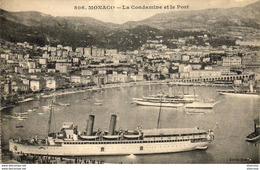 MONACO  La Condamine Et Le Port - La Condamine