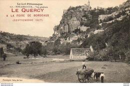 D46  LE QUERCY À LA FOIRE DE BORDEAUX ( Septembre 1917 )  ............  ROCAMADOUR - France