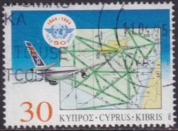 Cyprus 1994 SG #859 30c Used Int. Civil Aviation Organization - Cyprus (Republic)