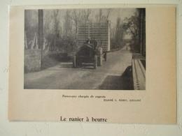 Transport Utilitaire - Coulon (Deux Sèvres)  Tracteur De La Scierie à Cageots Et Palettes  - Coupure De Presse De 1954 - Tractors