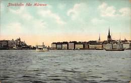 STOCKHOLM SWEDEN~FRAN MARAREN (sp) MALAREN~1910s POSTCARD 44765 - Sweden