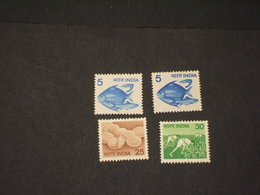 INDIA - 1979 PITTORICA 4 VALORI  - NUOVI(++) - Nuovi
