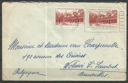 1942 - 539 X 2 Oblitérés (o) Sur Lettre - France
