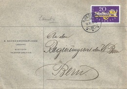 Brief  Büetigen - Bern            1949 - Svizzera