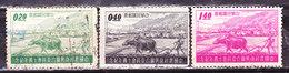 -Formosa 1958 Serie Non Completa Usata - 1945-... Republic Of China
