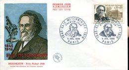 FDC Elie Metchnikoff - Paris (75) - 9 Juil 1966 - Illustration D.Word - 1960-1969