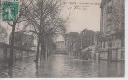 CPA Paris - Inondations 1910 - Auteuil - Rue Gros - Überschwemmung 1910