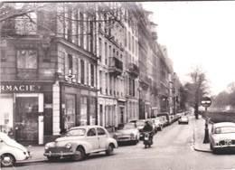 CPM :  Paris XVII  (75) Voitures Boulevard Pereire Sud   Rare Simca Aronde,  203 Peugeot .... 1970 ? - Turismo
