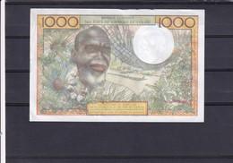 AOF Cote D'ivoire 1000 Fr   AU - Westafrikanischer Staaten