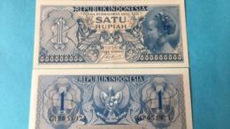 Billet Indonesie 1 Rupiah - Indonésie