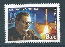 RN048  Russia 2008 - V. P. Glushko Ing.     1 V. - 1992-.... Federazione