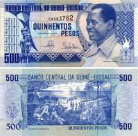 Billet Guinée-Bissau 500 Pesos - Guinea-Bissau