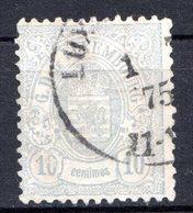 LUXEMBOURG - 1874-80 - N° 30 - 10 C. Gris - (Armoiries) - 1859-1880 Armoiries