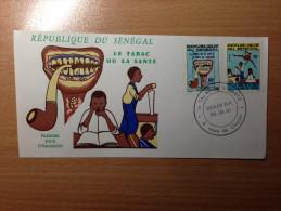 Sénégal FDC 1er Premier Jour 1981 Le Tabac Ou La Santé Tobacco Tabak - Senegal (1960-...)