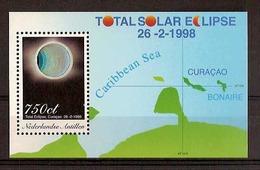 Nederlandse Antillen NVPH Nr 1204 Postfris/MNH Zonsverduistering, Solar Eclips, Eclipse Solaire 1998 - Curaçao, Antille Olandesi, Aruba