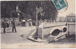 Dépt 28 - JOUY - Le Pont Sur L'Eure - Très Animée - Jouy