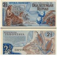 Billet Indonesie 2.50 Rupiah - Indonésie