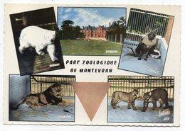 CHAUMONT SUR THARONNE -- 1966--Parc Zoologique De Montevran--Multivues (ours,lion,puma,hyène )  .........à Saisir - Frankreich