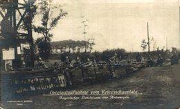 PHOTO KARTE OriginalAufnahme  Kriegsschauplatz BAYERISCHER LANDSTURM  VOR ANTWERPEN  WWI ANTWERPEN ANVERS WWICOLLECTION - Antwerpen