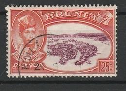 BRUNEI 1949 YT N° 78 Obl. - Brunei (...-1984)