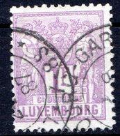 LUXEMBOURG - 1882-91 - N° 57 - 1 F. Violet - (Allégorie) - 1882 Allegorie