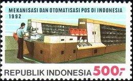 1992 Postal Sorting Equipment MNH - Indonesia