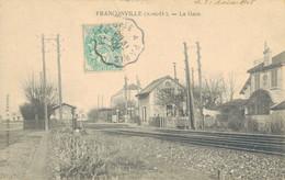 J78 - 95 - FRANCONVILLE - Val-d'Oise - La Gare - Franconville