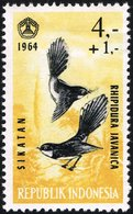 1965 4r+1r Fantail Mint Never Hinged - Indonesia