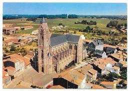 Cpsm: 44 VALLET (ar. Nantes) Vue Aérienne Sur L'Eglise   Ed. CIM  N° 44.212.29.0.1052 - France