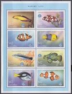 1998Lesotho1394-401KLSea Fauna8,00 € - Marine Life