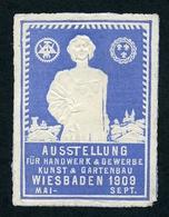 CINDERELLA : WIESBADEN - AUSSTELLUNG HANDWERK & GEWERBE KUNST & GARTENBAU, 1909 - Cinderellas