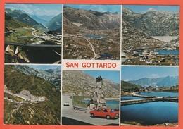 SVIZZERA - SUISSE - HELVETIA - TI Tessin - San Gottardo - Multivues - Not Used - TI Tessin