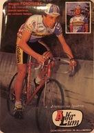 Postcard - Maurizio Fondriest - Ecoflam-Alfa Lum-Mareco - 1987 - Ciclismo